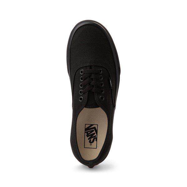 alternate image alternate view Vans Authentic Skate Shoe - Black MonochromeALT2