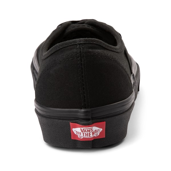 alternate image alternate view Vans Authentic Skate Shoe - Black MonochromeALT4