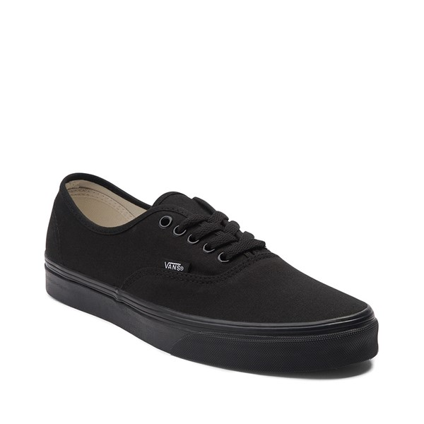 alternate image alternate view Vans Authentic Skate Shoe - Black MonochromeALT5