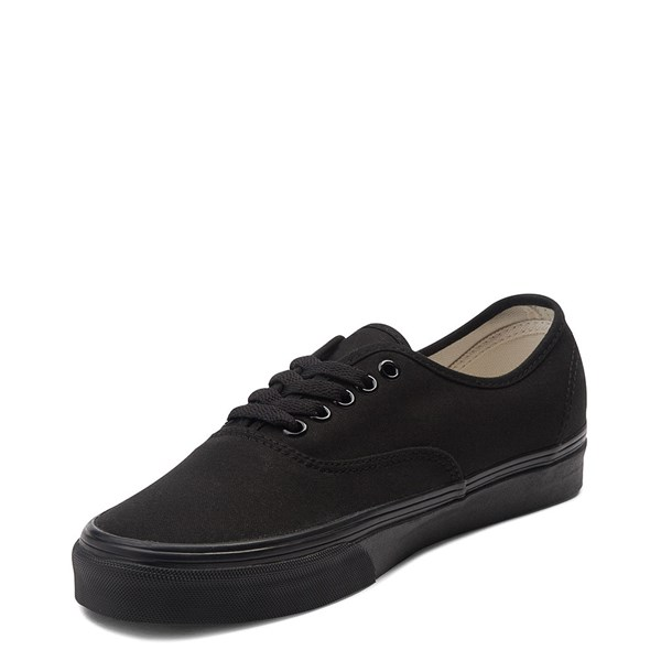 alternate image alternate view Vans Authentic Skate Shoe - Black MonochromeALT3