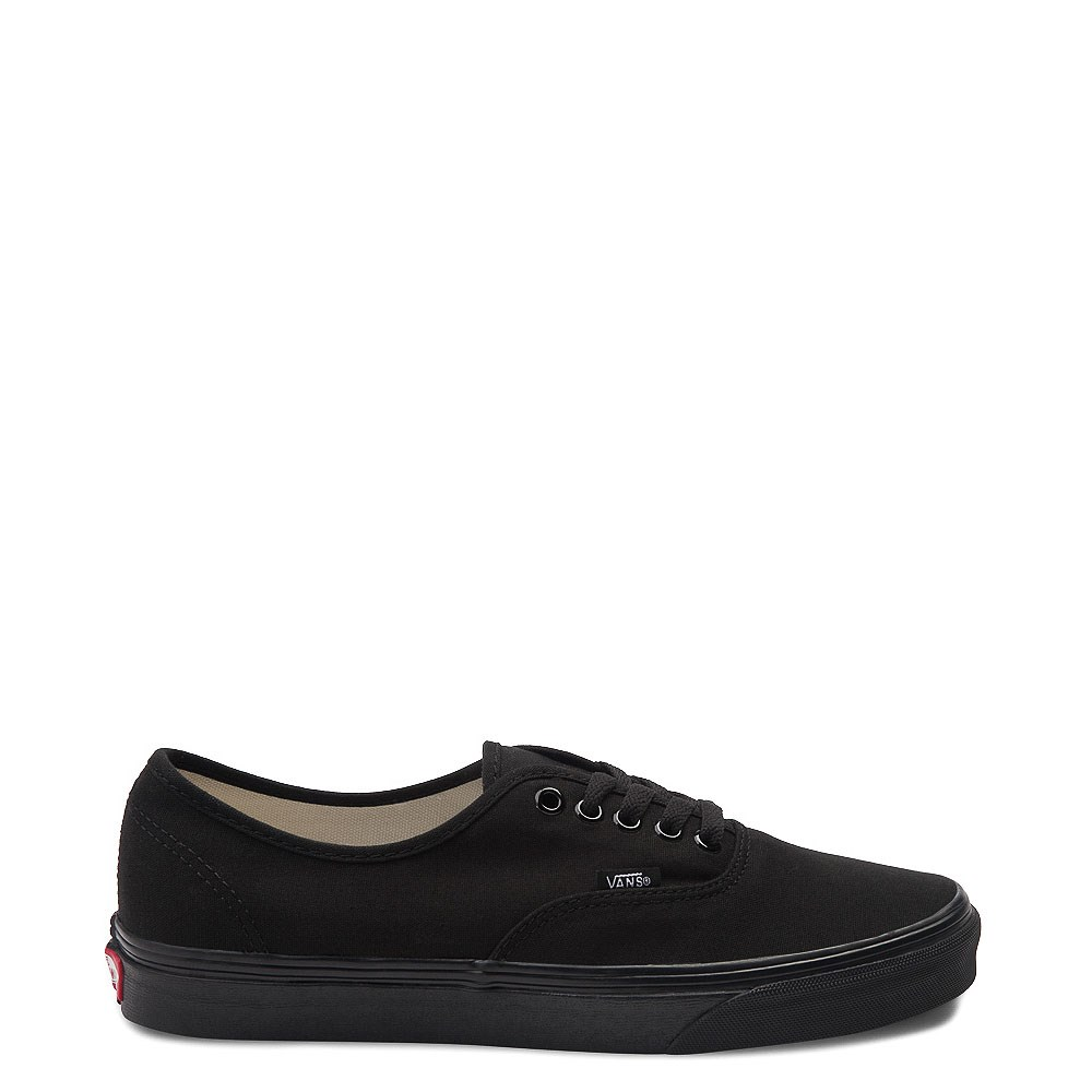 Vans Authentic Skate Shoe - Black Monochrome