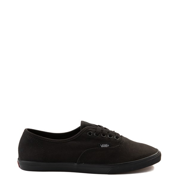 Main view of Vans Authentic Lo Pro Skate Shoe - Black Monochrome