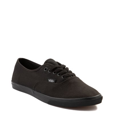 Alternate view of Vans Authentic Lo Pro Skate Shoe - Black Monochrome