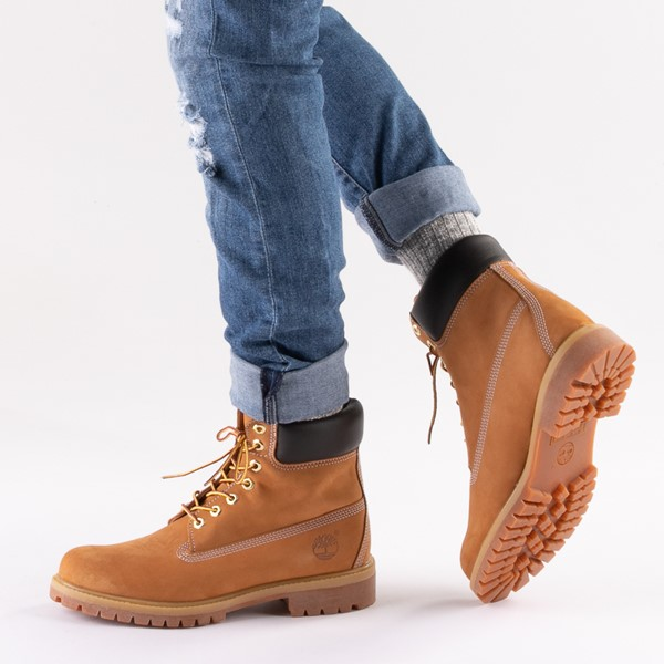 "alternate image alternate view Mens Timberland 6"" Classic BootB-LIFESTYLE1"