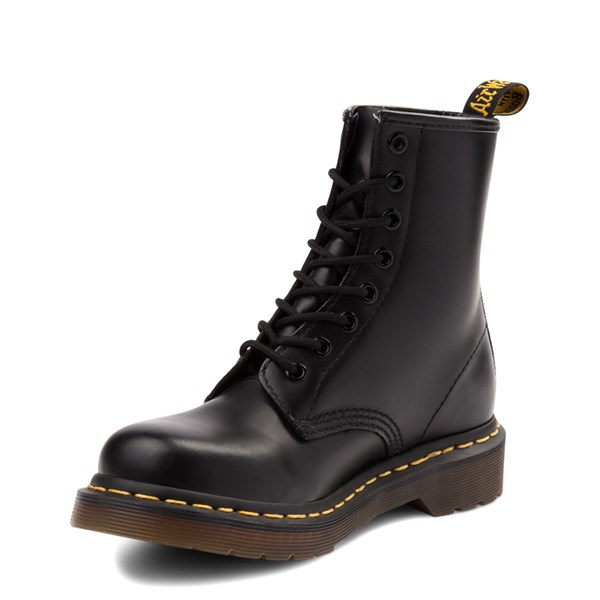 alternate image alternate view Womens Dr. Martens 1460 8-Eye Boot - BlackALT3