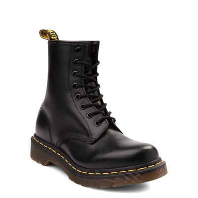 Alternate view of Womens Dr. Martens 1460 8-Eye Boot - Black