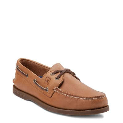 Alternate view of Mens Sperry Top-Sider Authentic Original Boat Shoe - Tan