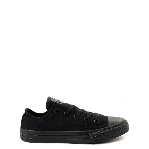 Converse Chuck Taylor All Star Lo Sneaker - Little Kid - Black Monochrome