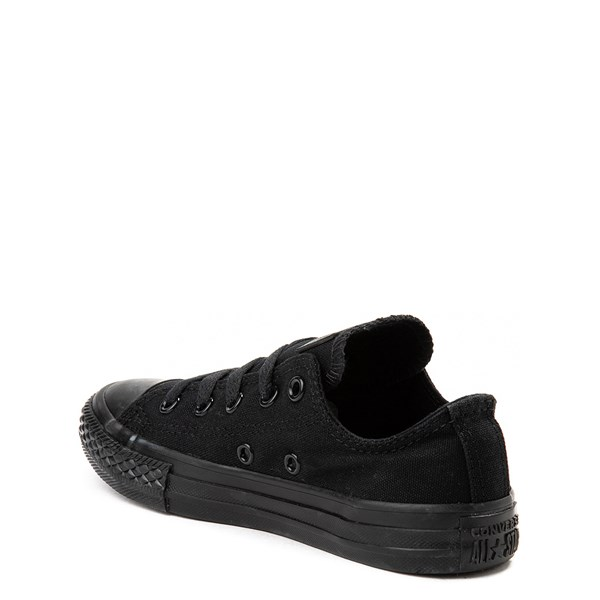 alternate image alternate view Converse Chuck Taylor All Star Lo Sneaker - Little Kid - Black MonochromeALT2
