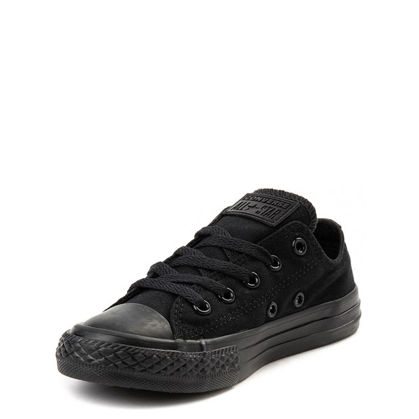 alternate image alternate view Converse Chuck Taylor All Star Lo Sneaker - Little Kid - Black MonochromeALT3
