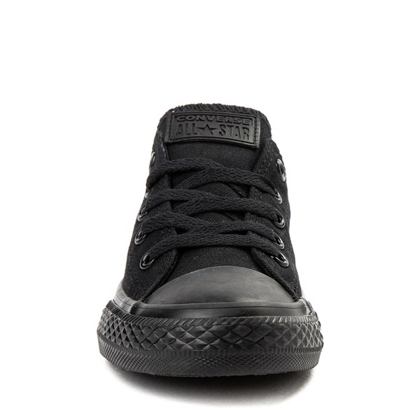 alternate image alternate view Converse Chuck Taylor All Star Lo Sneaker - Little Kid - Black MonochromeALT4