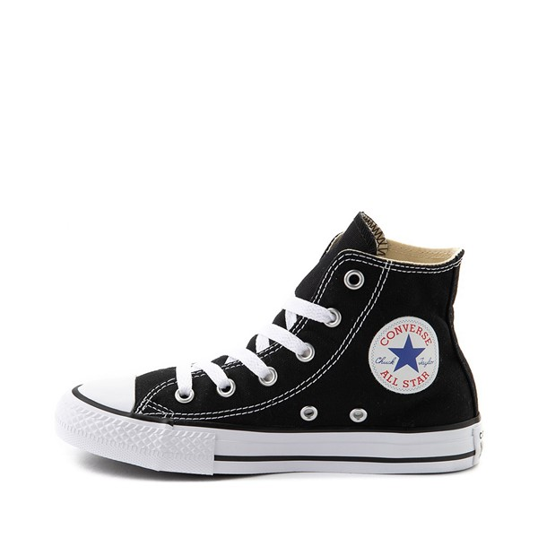 alternate image alternate view Converse Chuck Taylor All Star Hi Sneaker - Toddler / Little Kid - BlackALT1