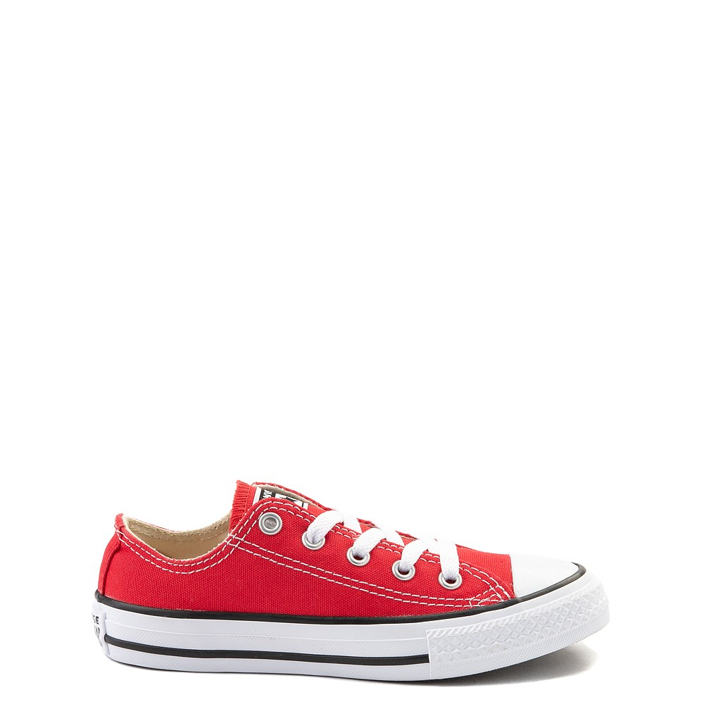 Converse Chuck Taylor All Star Lo Sneaker - Little Kid - Red