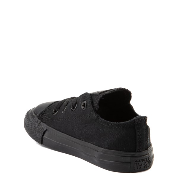 alternate image alternate view Converse Chuck Taylor All Star Lo Sneaker - Baby / Toddler - Black MonochromeALT2