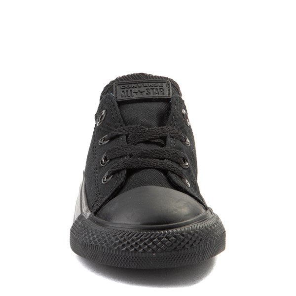 alternate image alternate view Converse Chuck Taylor All Star Lo Sneaker - Baby / Toddler - Black MonochromeALT4