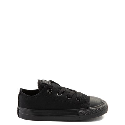 Main view of Converse Chuck Taylor All Star Lo Sneaker - Baby / Toddler - Black Monochrome