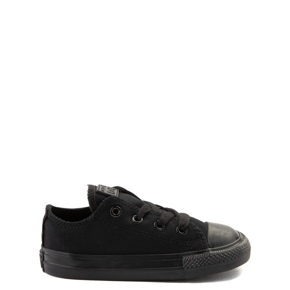 Converse Chuck Taylor All Star Lo Sneaker - Baby / Toddler - Black Monochrome