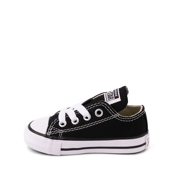 alternate image alternate view Converse Chuck Taylor All Star Lo Sneaker - Baby / Toddler - BlackALT1