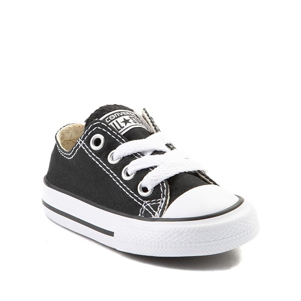 alternate image alternate view Converse Chuck Taylor All Star Lo Sneaker - Baby / Toddler - BlackALT5