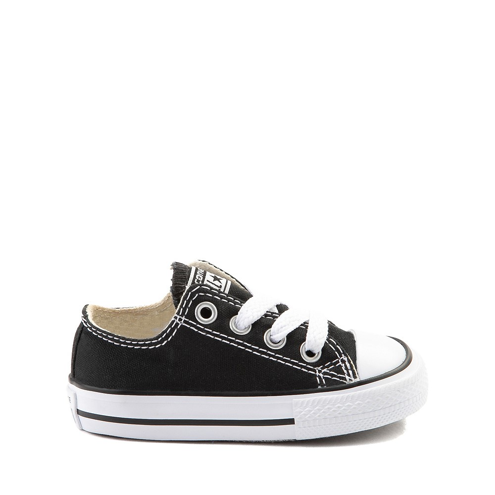 Converse Chuck Taylor All Star Lo Sneaker - Baby / Toddler - Black