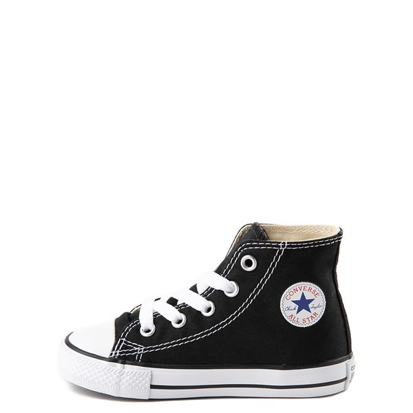 alternate image alternate view Converse Chuck Taylor All Star Hi Sneaker - Baby / Toddler - BlackALT1