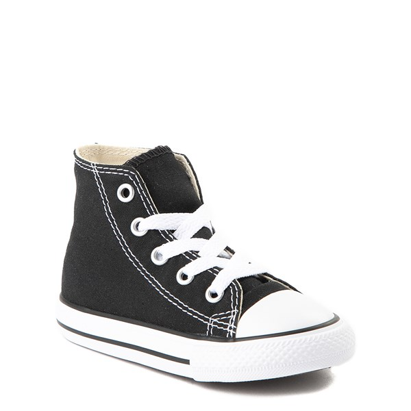 alternate image alternate view Converse Chuck Taylor All Star Hi Sneaker - Baby / Toddler - BlackALT1B