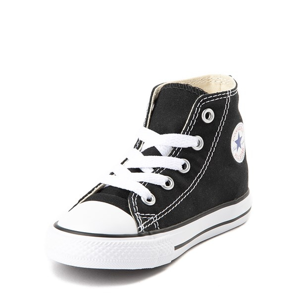 alternate image alternate view Converse Chuck Taylor All Star Hi Sneaker - Baby / Toddler - BlackALT3