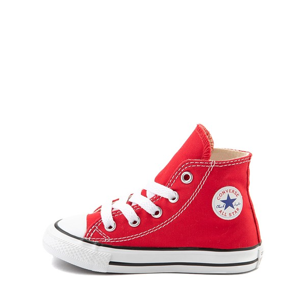 alternate image alternate view Converse Chuck Taylor All Star Hi Sneaker - Baby / Toddler - RedALT1