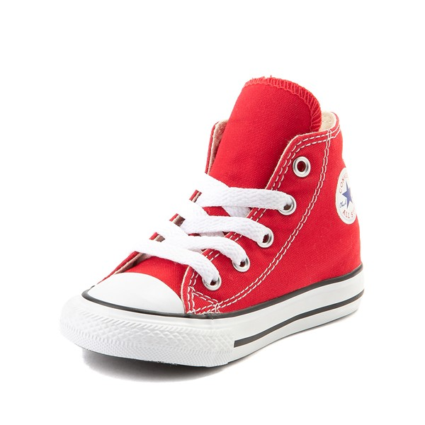 alternate image alternate view Converse Chuck Taylor All Star Hi Sneaker - Baby / Toddler - RedALT2