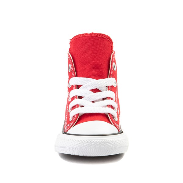 alternate image alternate view Converse Chuck Taylor All Star Hi Sneaker - Baby / Toddler - RedALT4