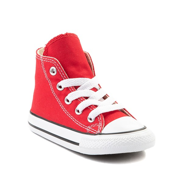 alternate image alternate view Converse Chuck Taylor All Star Hi Sneaker - Baby / Toddler - RedALT5