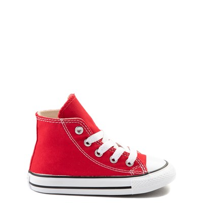 Main view of Converse Chuck Taylor All Star Hi Sneaker - Baby / Toddler - Red