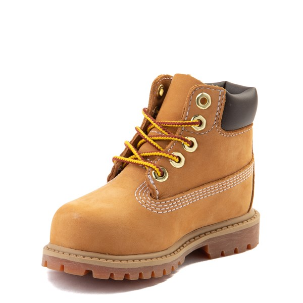 "alternate image alternate view Timberland 6"" Classic Boot - Toddler / Little Kid - WheatALT3"