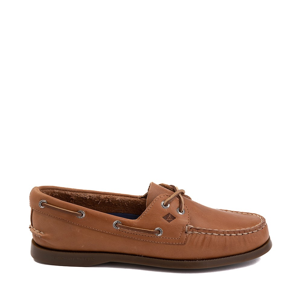 Womens Sperry Authentic Original Boat Shoe - Tan
