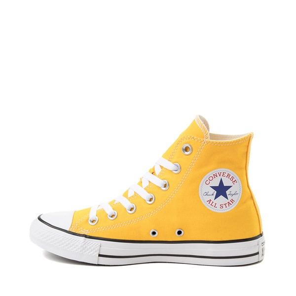 alternate image alternate view Converse Chuck Taylor All Star Hi Sneaker - LemonALT1