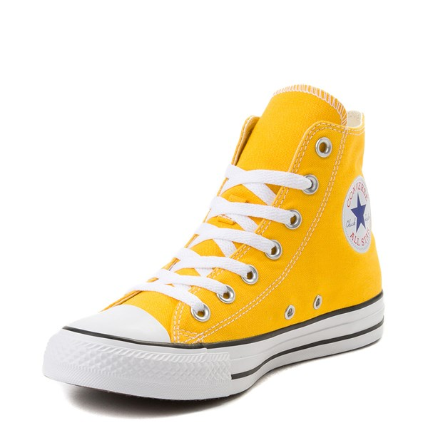 alternate image alternate view Converse Chuck Taylor All Star Hi Sneaker - LemonALT3