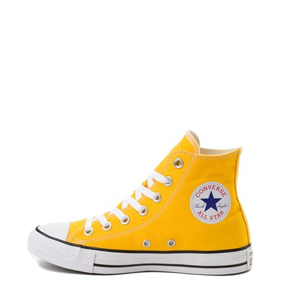 Alternate view of Converse Chuck Taylor All Star Hi Sneaker - Lemon