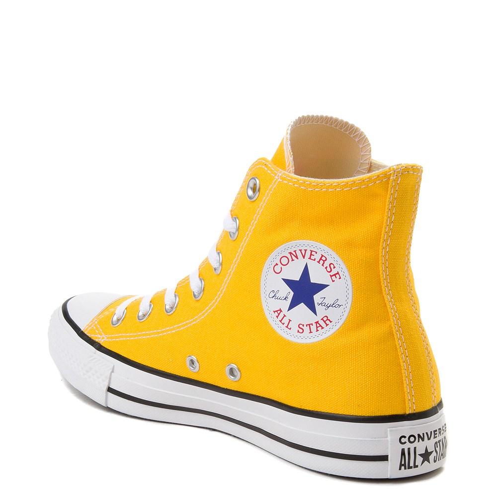 1980s CONVERSE Chuck Taylor All Star Lemon Yellow High Top