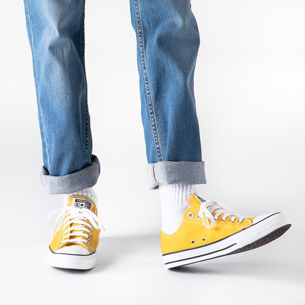 alternate image alternate view Converse Chuck Taylor All Star Lo Sneaker - LemonB-LIFESTYLE1