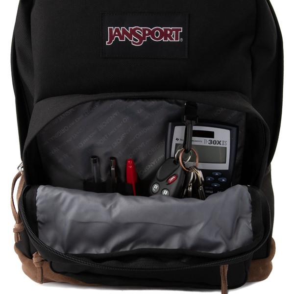 alternate image alternate view JanSport Right Pack Backpack - BlackALT3B