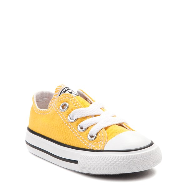 alternate image alternate view Converse Chuck Taylor All Star Lo Sneaker - Baby / Toddler - LemonALT1