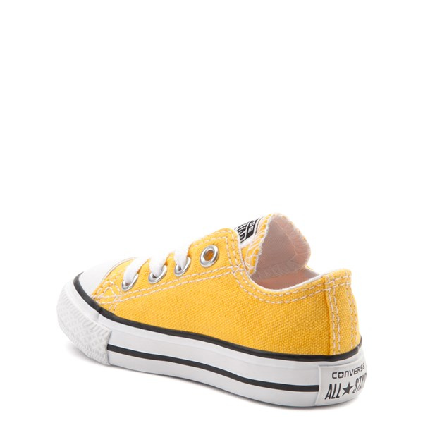 alternate image alternate view Converse Chuck Taylor All Star Lo Sneaker - Baby / Toddler - LemonALT2