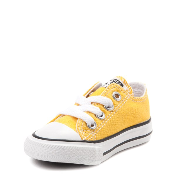 alternate image alternate view Converse Chuck Taylor All Star Lo Sneaker - Baby / Toddler - LemonALT3