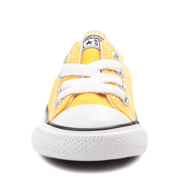 alternate image alternate view Converse Chuck Taylor All Star Lo Sneaker - Baby / Toddler - LemonALT4