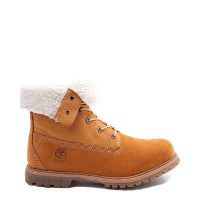Main view of Womens Timberland Fleece Roll Down Boot