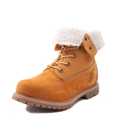 Alternate view of Womens Timberland Fleece Roll Down Boot