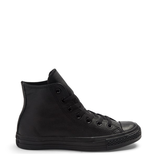 Main view of Converse All Star Hi Leather Sneaker - Black Monochrome