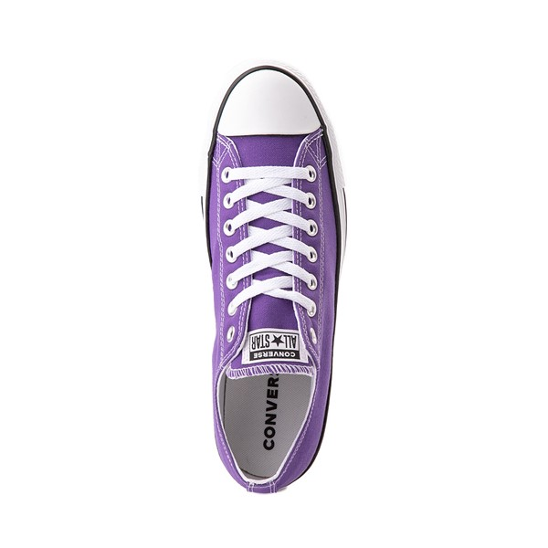 alternate image alternate view Converse Chuck Taylor All Star Lo Sneaker - Electric PurpleALT2