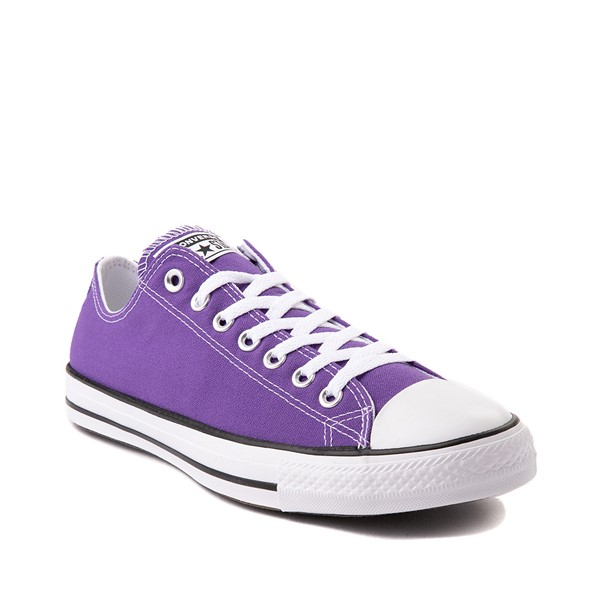 alternate image alternate view Converse Chuck Taylor All Star Lo Sneaker - Electric PurpleALT5