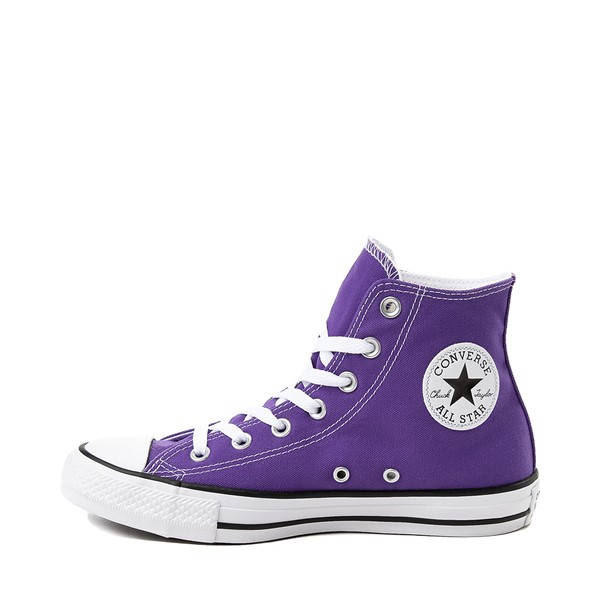 alternate image alternate view Converse Chuck Taylor All Star Hi Sneaker - Electric PurpleALT1